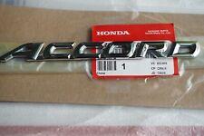 Honda Accord Word 75722-SDA-A10 Nameplate Emblem Trunk Rear Badge Logo Letter EX