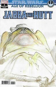 Star Wars Comic 1 Age Of Rebellion Jabba The Hutt Cover B Concept Variant  .