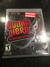 Guitar Hero: Warriors of Rock (Sony PlayStation 3, 2010 Brand New Factory Sealed