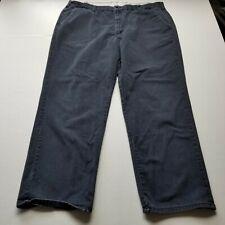 Bulwark Fire Resistant Mens Pants sz 44x32 Work Wear Faded Dark Blue Ppe G71