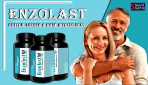 ENZOLAST MALE ENHANCEMENT - 60 CAPSULES Free Delivery