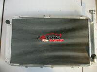 4Row Aluminum Radiator FOR Nissan Y60 PATROL GQ 4.2L TB42S TB42E petrol 87-97 MT
