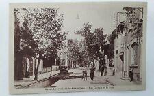 CPA-11-Aude-SAINT LAURENT de la CARBRERISSE-Rue Centrale et la Poste-RARE!!!