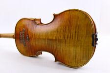 Master 4/4 violin Handmade Guarnerius 1743 model Violin free bow case