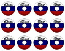 Learn How To Speak Russian Language Guide Audio Tutorial MP3 - 12 CD Pack BNIB