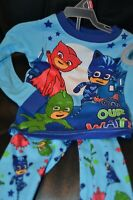 PJ Masks Infant Toddler Pajama 2 piece pc Set Boys PJMasks LS NWT size 2T Blue