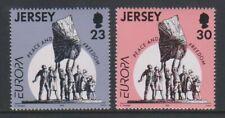 Jersey - 1995, Europa, Paix Et Liberté Ensemble - MNH - Sg 698/9