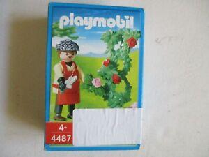 Playmobil - 4487 - LE JARDINIER HORTICULTEUR ET SES ROSIERS EN BOITE