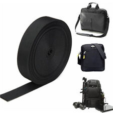 1M Black Nylon Heavy Webbing Bag Strap Thick Knapsack Tool Belt 2.5cm