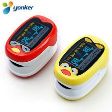 YONKER Neonatal Infant Kids Born Finger Pulse Oximeter Spo2 Monitor Oxymeter K1