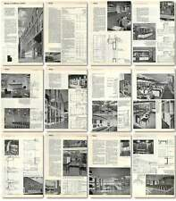1960 Library At Holborn, Theobald's Road London Design, Plans