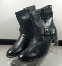 Women's Mephisto Leather Boots Size 7 (EUR 4.5) ELLIA CHARCOAL