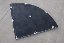 IntelliStage 1Mx1M Carpeted Quarter Round Staging Platform #2