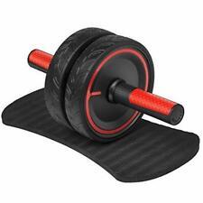 Ab Roller Wheel Abdominal Exercise For Home Gym Fitness Equipment Non Slip Handl