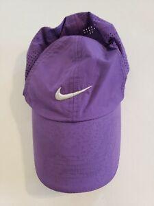 Nike Golf women's adjustable purple hat