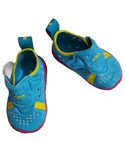 Nike Lebron 17 Dunked Baby/Toddler Shoes CJ2526-400 Blue Fury/Fire Pink. Size 4c