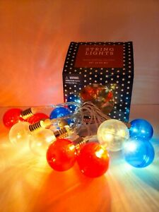 Lovely In box Christmas Globe Lights Bright Festive Holliday Battery Operated