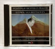 SVIATOSLAV RICHTER IN PRAGUE - BEETHOVEN piano sonatas nos.27-29 PRAGA CD NM