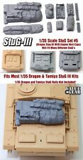 1/35 Scale StuG III Deck Stowage Set #5 (8 Pieces) - Value Gear Resin