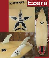 surfboard Ezera Oceanside Ca 3 Fin Surf board Found in San Diego Classic