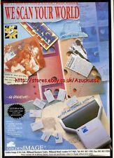 Golden Image Handheld Scanner 1991 Magazine Advert #5623