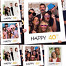 Wedding Supplies Party Frame Birthday 1st/16/18/21/30/40/50/60th Photo Props Hot