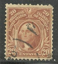 U.S. Possessions Philippines stamp scott 248 - 20 cent Washington 1906 issue #2