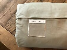 Pottery Barn Sofa Slipcover for PB Comfort Roll Arm-Linen/Cotton - Box Edg / NEW