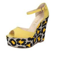 Damen schuhe ISLO ISABELLA LORUSSO 39 EU sandalen gelb wildleder BZ221-E