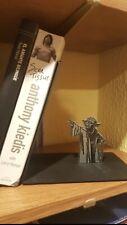 Master Yoda Bookend Star Wars Metal Bookrack Bookshelf BOOKENDS Book Holder
