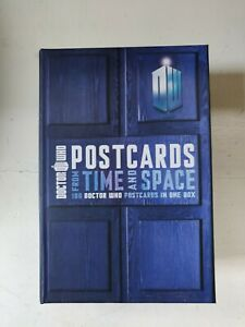 Doctor Who Postcards from Time and Space - collectors box of 100 postcards
