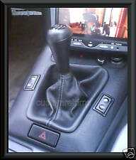 BMW E30 E34 E36 E46 FAUX LEATHER GEAR GAITER 3+5 SERIES