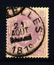 BELGIUM - BELGIO - 1869-1878 - Re Leopoldo II (1835 - 1909, reg. 1865)