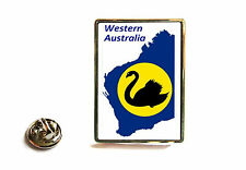 WESTERN AUSTRALIA STATE FLAG MAP LAPEL PIN BADGE TIE PIN GIFT