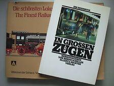2 Bücher schönsten Lokomotiven Deutschlands Finest Railway großen Züge Eisenbahn