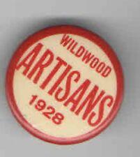 1928 pin Wildwood ARTISANS pinback