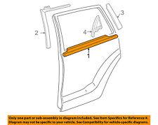 TOYOTA OEM 03-08 Matrix Rear-Window Sweep Belt Felt Molding Left 7574001041