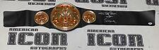 Afa Sika The Wild Samoans Signed Tag Team Championship Belt PSA/DNA COA WWE Auto