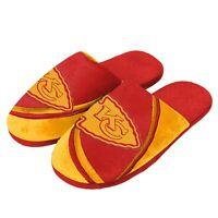 Pair of Denver Broncos Big Logo Stripe Slide Slippers House shoes New STP18