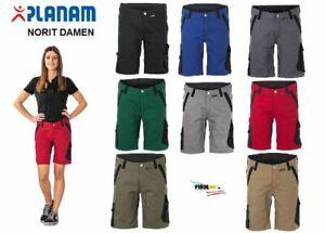 Planam Damen Arbeitsshort NORIT kurze Arbeitshose Workwear Shorts für Frauen