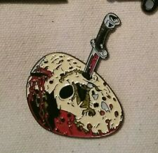 Enamel Horror Pin - Friday The 13th Jason Voorhees Mask