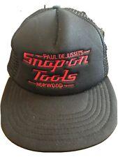 Trucker Style  HAT CAP  Snap Back Paul De Jussel's Snap On Tools Norwood
