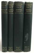 Sigmund Freud 'COLLECTED PAPERS OF SIGMUND FREUD' 1946, 4 Volumes Hardcover