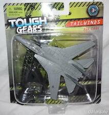 F-14 Tomcat Fighter Jet Die-Cast Model From Maisto Tailwinds Tough Gears w/Stand