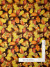 Autumn Fall Leaves Acorn Brown Cotton Fabric QT 24500-A Harvest Bounty - Yard