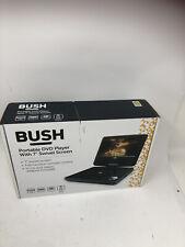 "BUSH Black 10"" Portable DVD PLAYER CDVD100W1SWM SD + USB Inputs (B 8494584 DV)"