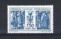"FRANCE STAMP TIMBRE N° 274 "" EXPOSITION COLONIALE PARIS 1F50 "" NEUF xx LUXE R874"