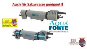 AUCH für POOL, Salzwasser und Koiteiche AquaForte UVC Pure UV Lampe, 55W UVP279€