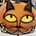 Pumpkin Stand Decor Cat Eyes (metal frame) Halloween