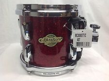 "Pearl Masters MCX 8"" Mounted Tom/Red Glass/#407/Maple Shell/New"